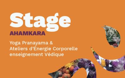 Stage AHAMKARA – Yoga Pranayama & Ateliers d'énergie corporelle