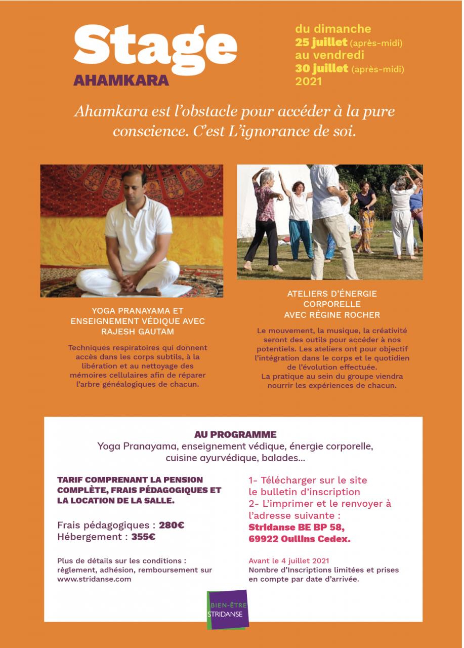 Stage Yoga Pranayama