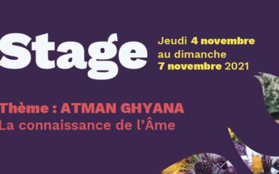 Stage au mois de Novembre 2021 – ATMAN GHYANA _ La connaissance de l'Ame